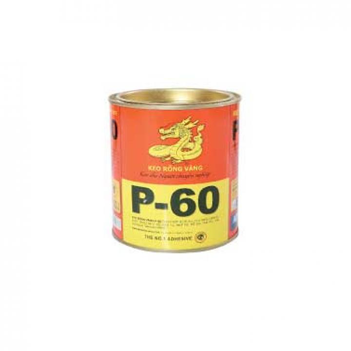 Keo dán đa năng Keo Rồng Vàng P-60 3kg 4 Lon