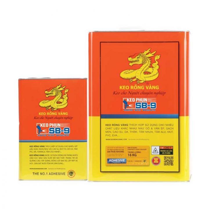 Keo phun Rồng Vàng SB9 16kg