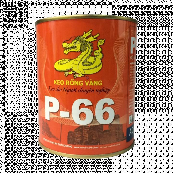Keo dán đa năng Keo Rồng Vàng P-66 500G 24 Lon