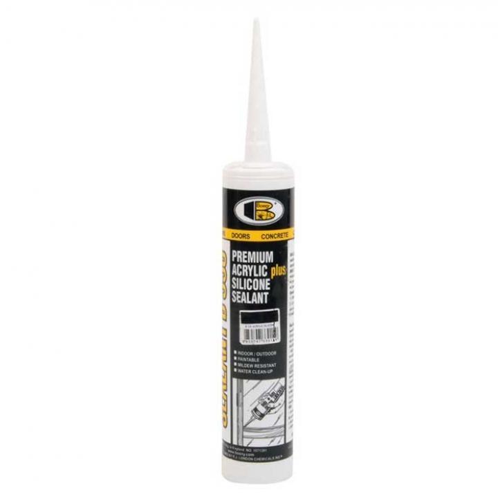 Keo trét kín Bosny Acrylic Silicone Sealant B330 300ml 20 chai