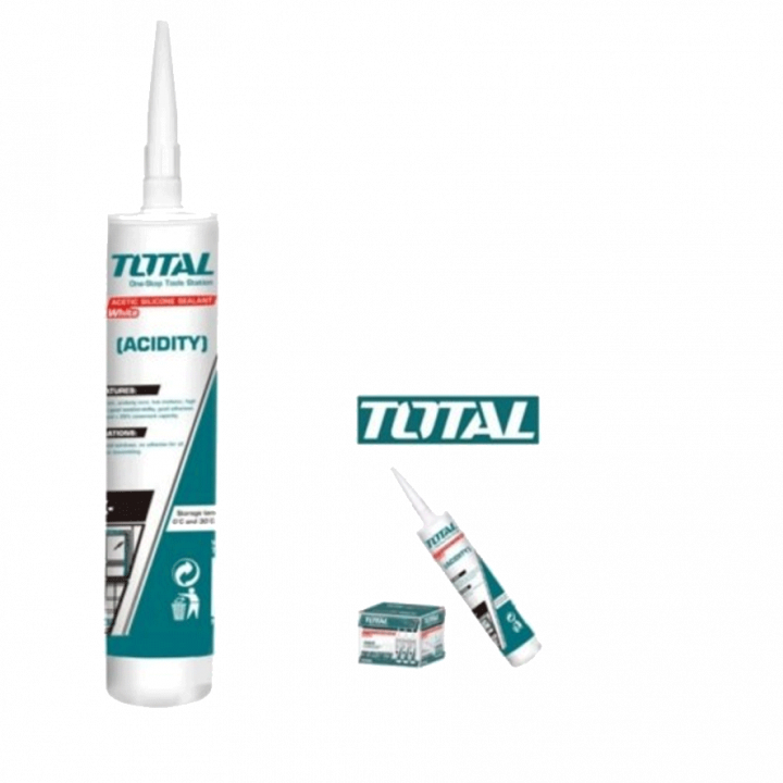 Keo silicol trắng sữa Total THT3511 300 ml