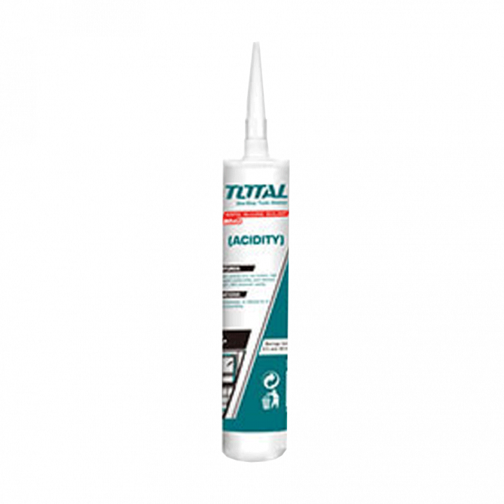 Keo silicol trắng trong Total THT3512 300 ml