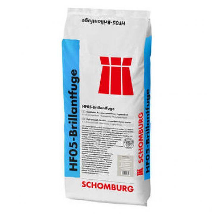 Bột chà ron gốc xi măng chịu được áp lực cao HF05-Brillantfuge
