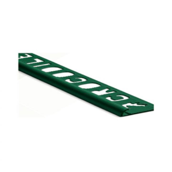 Nẹp Crocodile Tile Trim Plus Microban bảng 8mm màu Light Pewter