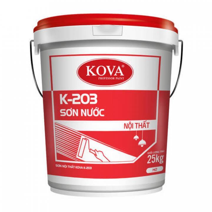 Sơn nội thất KOVA K-203 5kg
