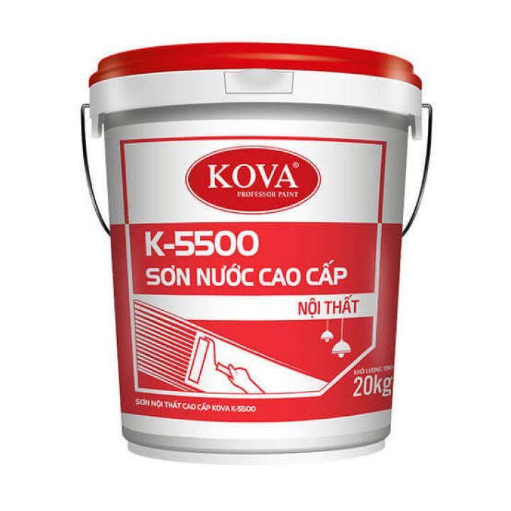 Sơn nội thất cao cấp KOVA K-5500 4kg