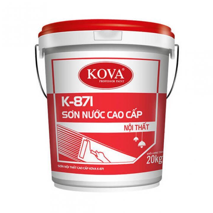 Sơn nội thất cao cấp KOVA K-871 4kg