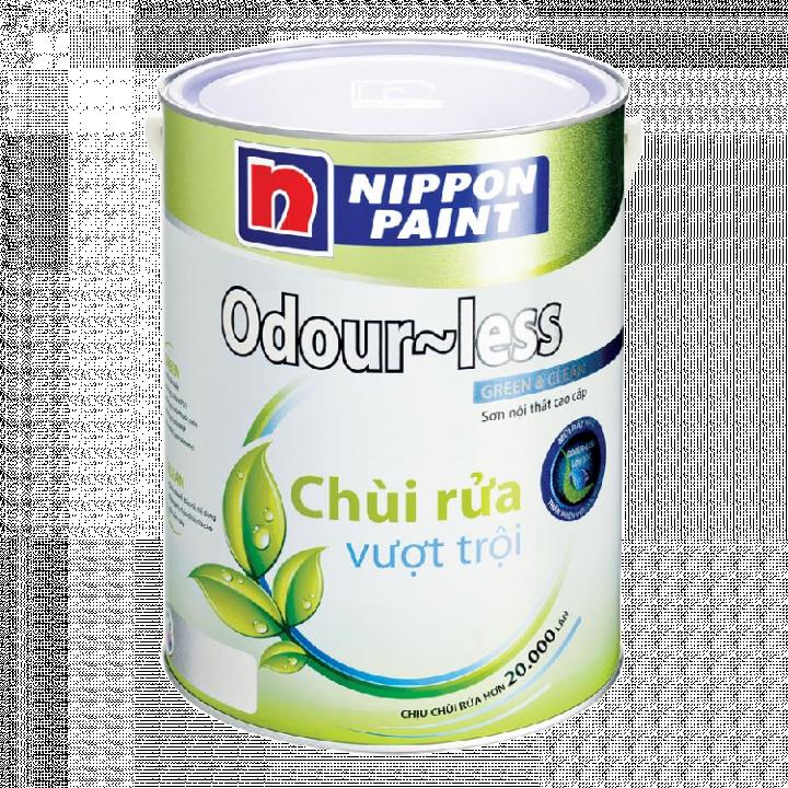 Sơn phủ Nippon Odour-less 18 L