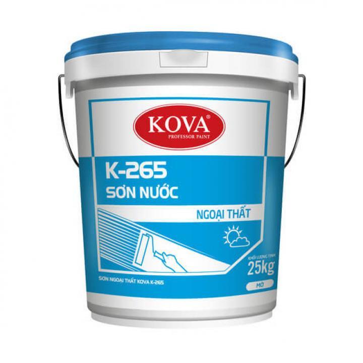 Sơn ngoại thất Kova K-265 25kg