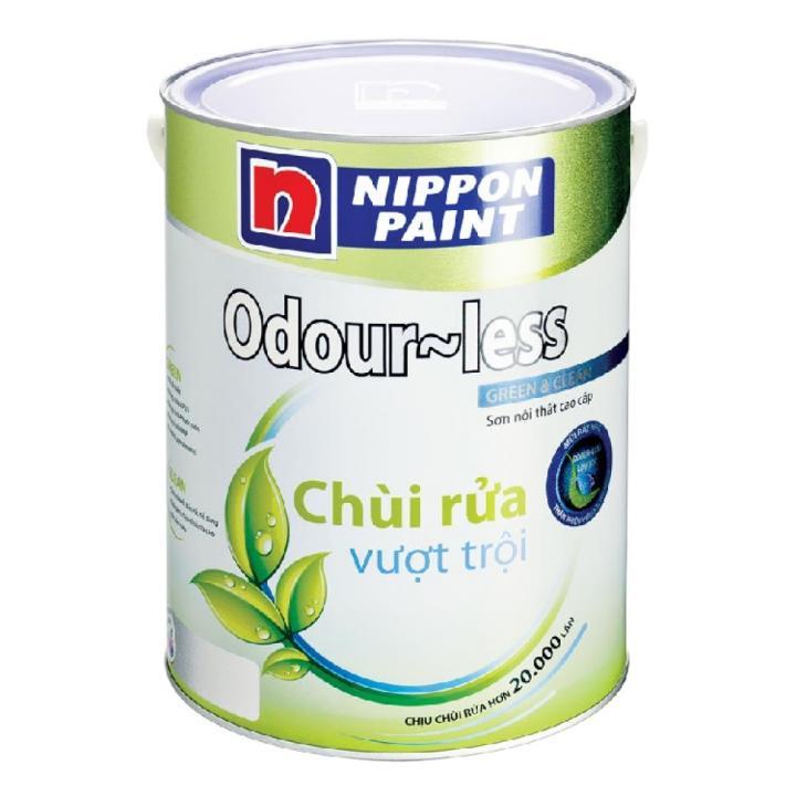 Sơn phủ Nippon Odour-less 5 L