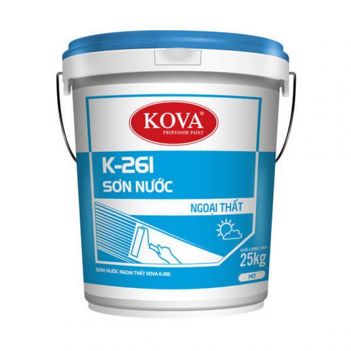 Sơn nước ngoại thất Kova K-261  5kg