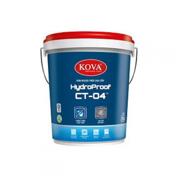 Sơn ngoài trời cao cấp KOVA HydroProof CT-04TM 4kg