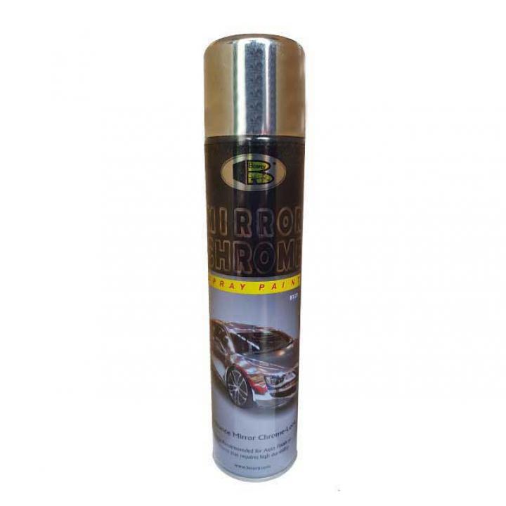 Sơn mạ inox hiệu ứng gương soi Bosny Mirror Chrome No.123 270cc 6 chai