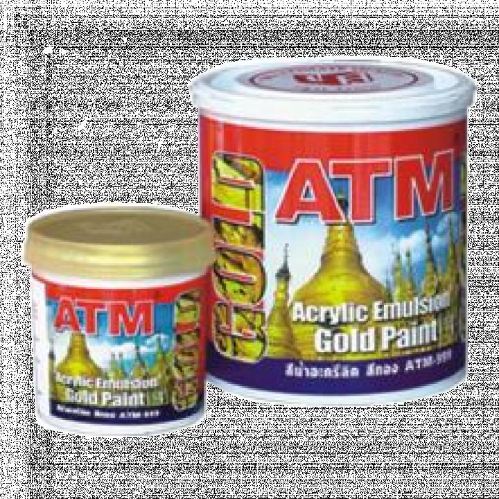 Sơn nước nhũ vàng ATM 999 17.5 L