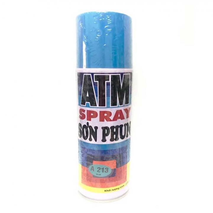 Sơn Xịt ATM Spray A213 400ml (Xanh dương) - Thùng 12 chai