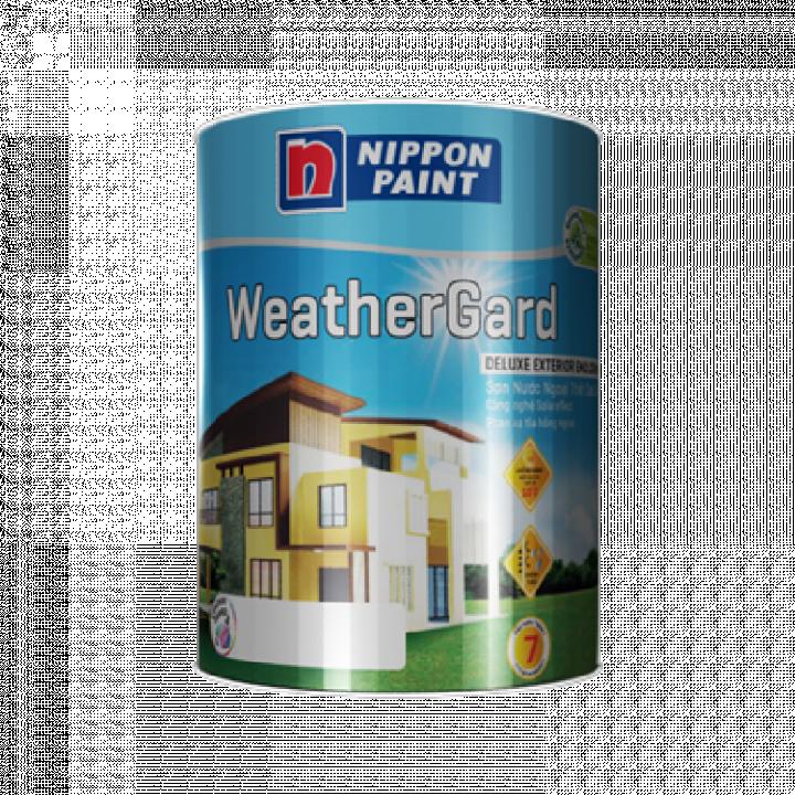 Sơn phủ ngoại thất Nippon Weathergard 5 L
