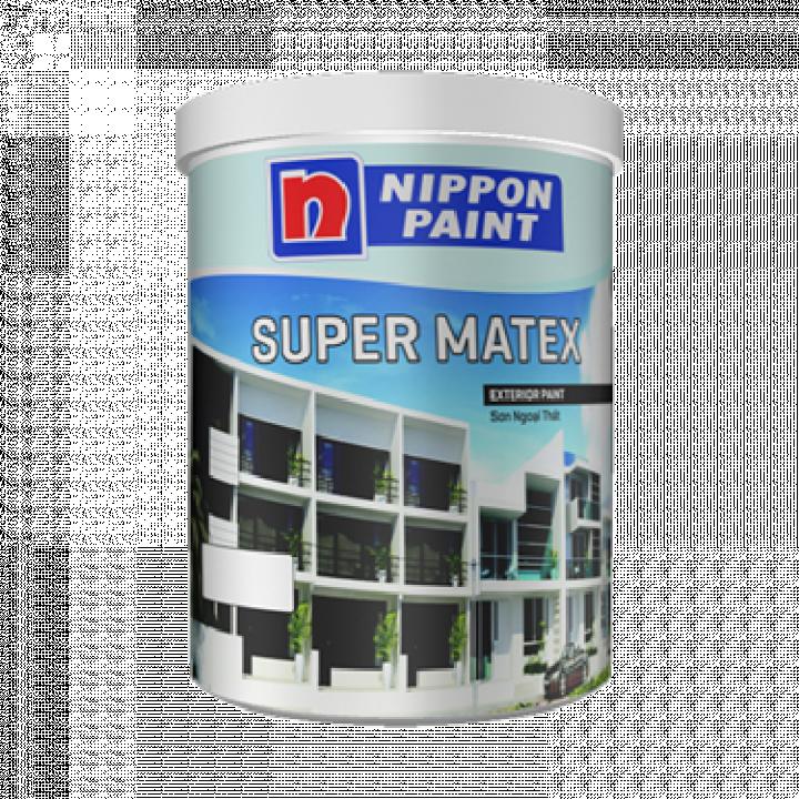 Sơn phủ Nippon Super Matex 18 L
