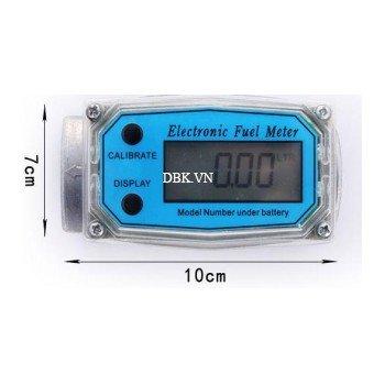 Đồng hồ đo lưu lượng điện tử bằng nhôm LG1017D