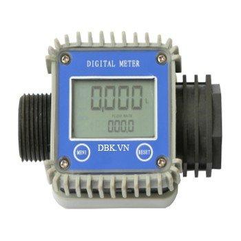 Đồng hồ đo lưu lượng điện tử bằng nhựa PPS LG-1017A