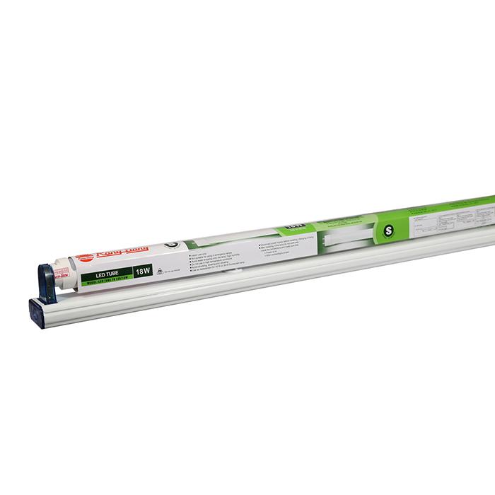 Bộ đèn LED Tuýp T8 1.2m 18W Nhôm Nhựa