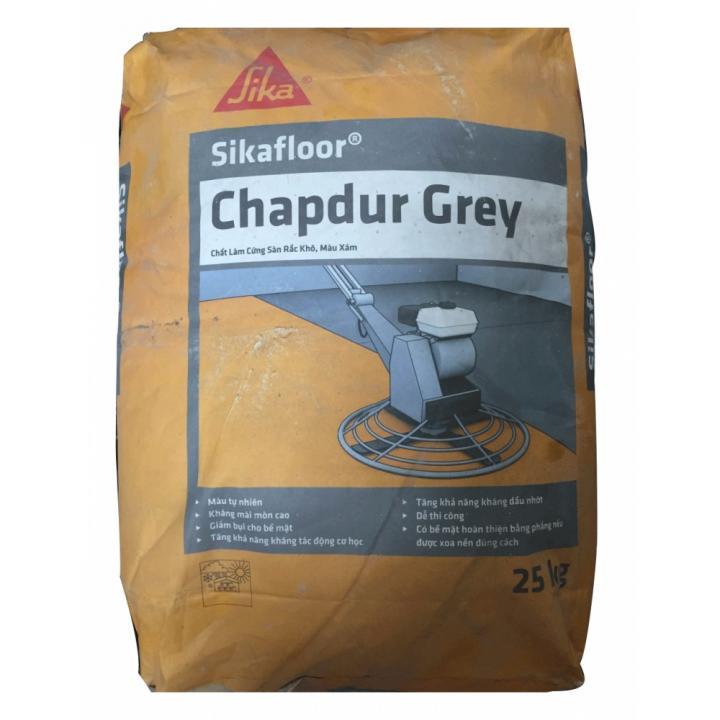 Bột xoa nền tăng cường bề mặt bê tông Sika Sikafloor Chapdur Grey