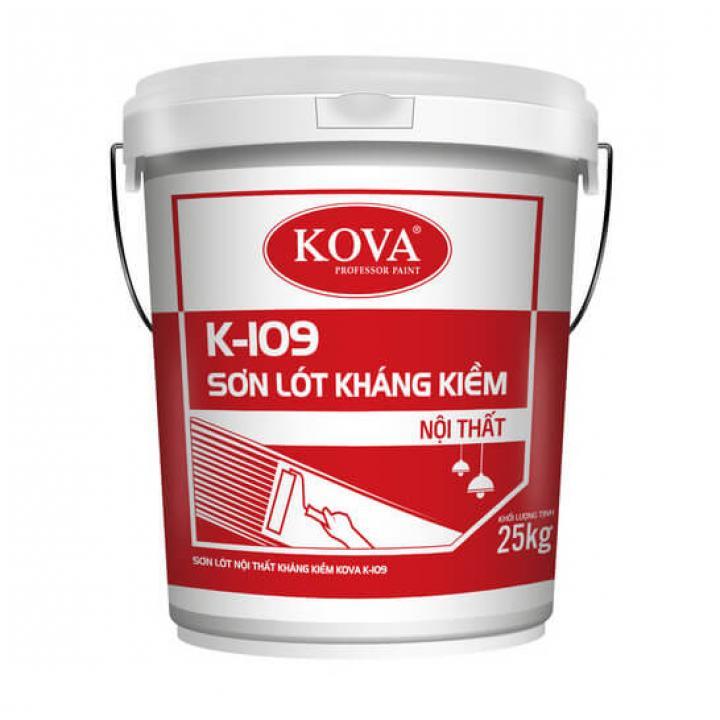 Sơn lót nội thất kháng kiềm Kova K -109 5kg