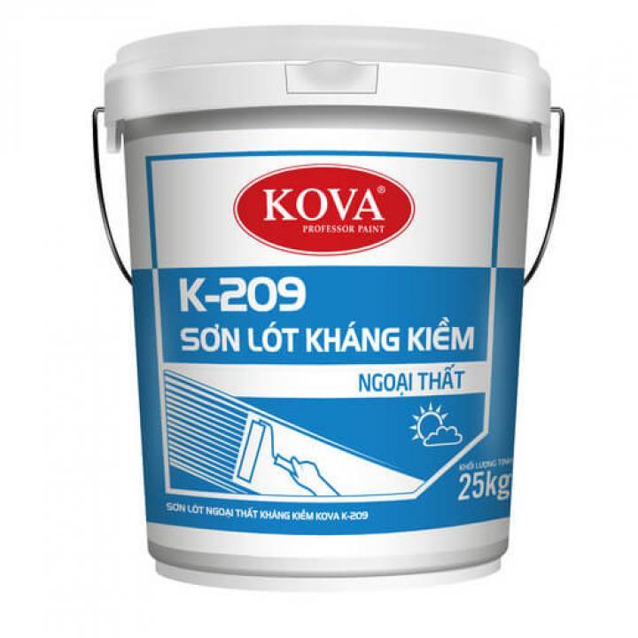 Sơn lót ngoại thất kháng kiềm Kova K-209 25kg