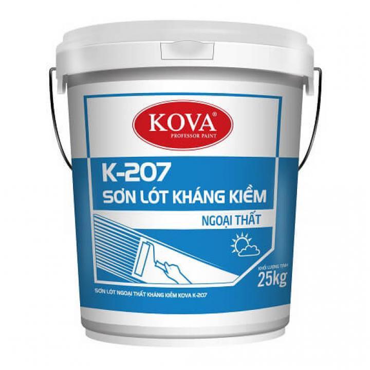 Sơn lót ngoại thất kháng kiềm Kova K-207 25kg