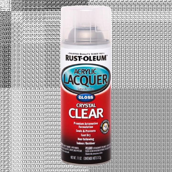 Sơn bảo vệ bóng cứng Rust Oleum Arcrylic Lacquer