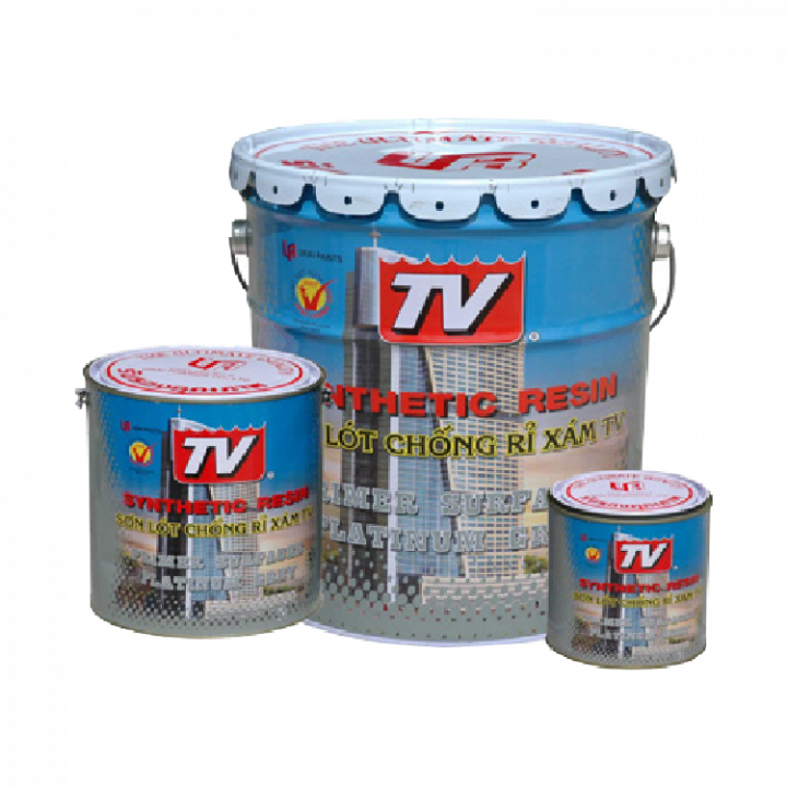 Sơn lót chống rỉ TV màu xám (12 lon 800 ml)