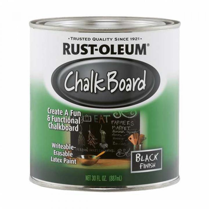 Sơn tạo bề mặt bảng đen Rust-Oleum Chalkboard Paint