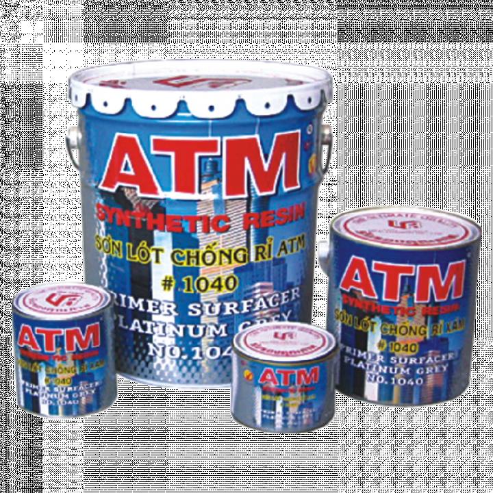 Sơn lót chống rỉ ATM màu xám (12 lon 800 ml)
