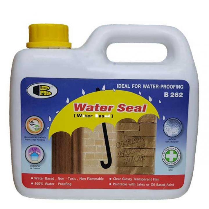 Chống thấm nước có màn film Bosny Water Seal B262 2L 6 can