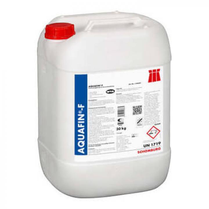 Dung dịch silicat hóa chống ẩm dùng trong thi công ngăn ẩm chân tường AQUAFIN-F