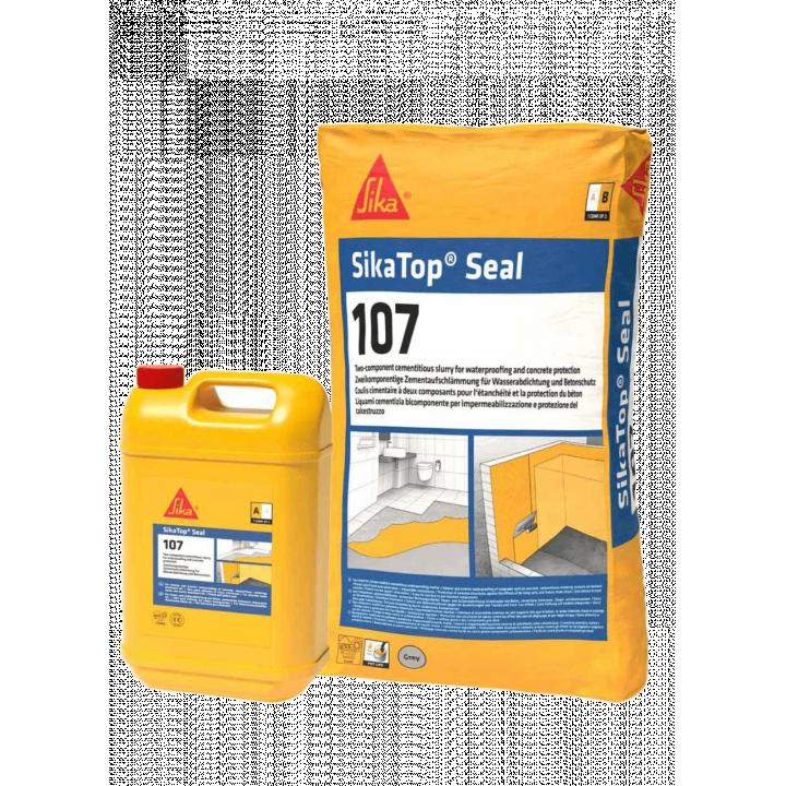 Vật liệu chống thấm và bảo vệ đàn hồi Sika Sikatop Seal 107