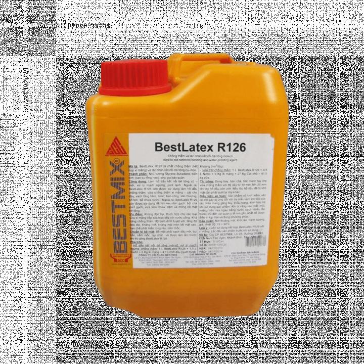 Dung dịch chống thấm và kết nối bê tông Bestmix BestLatex R126 5 L