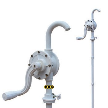 Bơm quay tay hóa chất bằng nhựa PP DBK LG-1015C