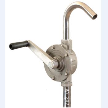 Bơm quay tay dầu nhớt Inox cao cấp DBK RP-8804