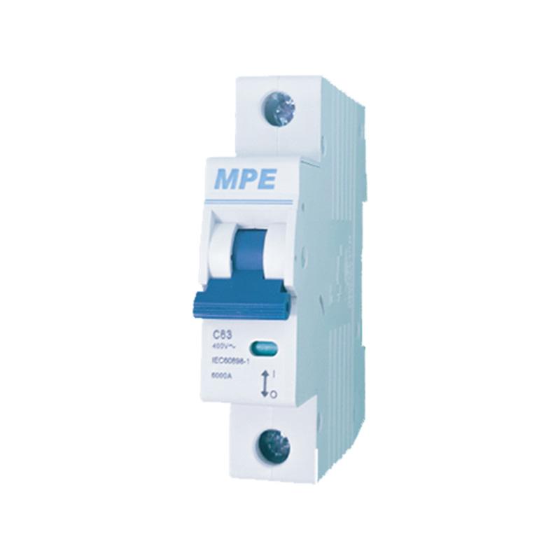 Cầu dao tự động số cực 1p, In 20A MPE MP6-C120