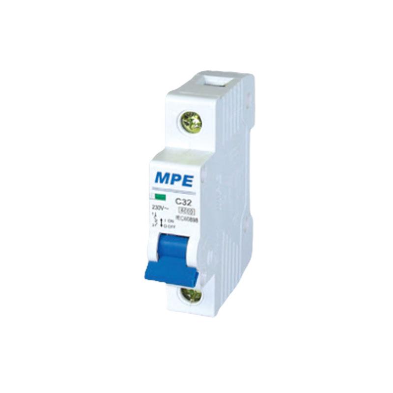 Cầu dao tự động số cực 1p, In 16A MPE MP6-C116