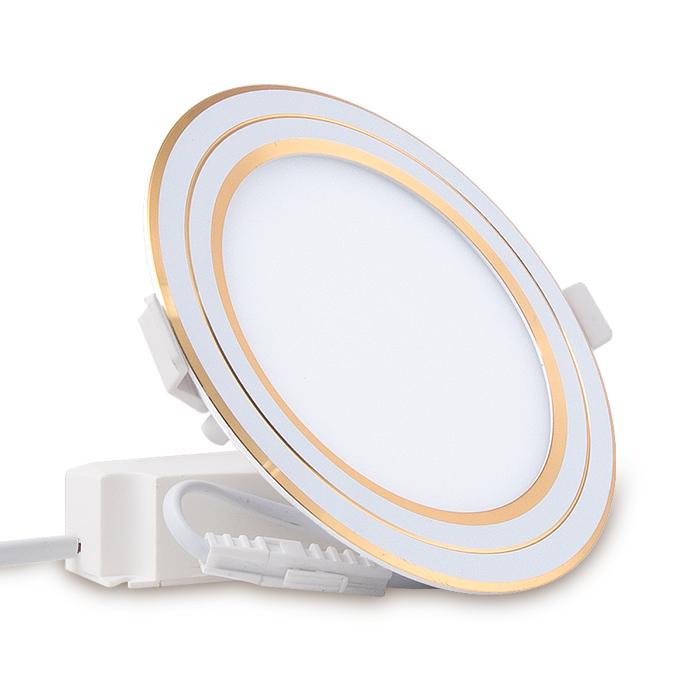 Đèn LED Panel Tròn đổi màu 110/9W