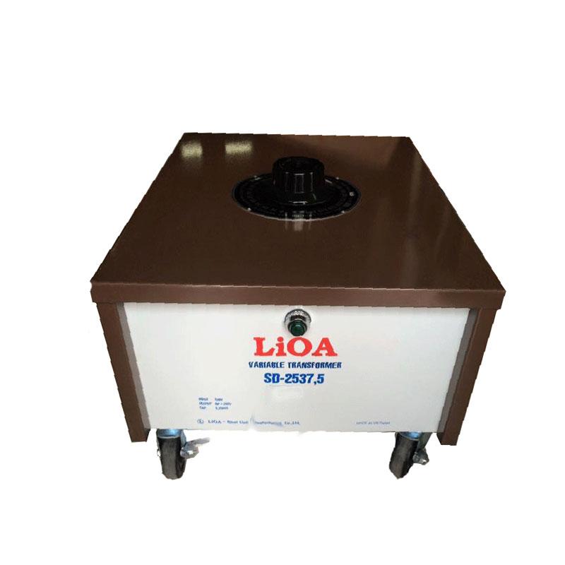 Biến áp vô cấp 1 PHA 8.25kVA LiOA SD-2537.5