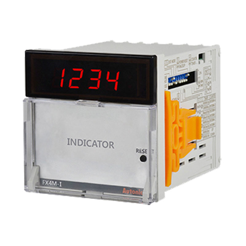 Bộ đếm và hẹn giờ 4 chữ số, đèn led Autonics FX4M-I4