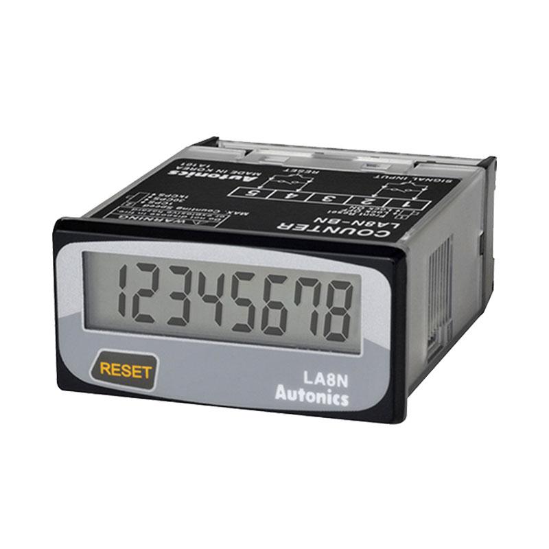 Bộ đếm LCD 8 chữ số 7 đoạn Autonics LA8N-BN-L
