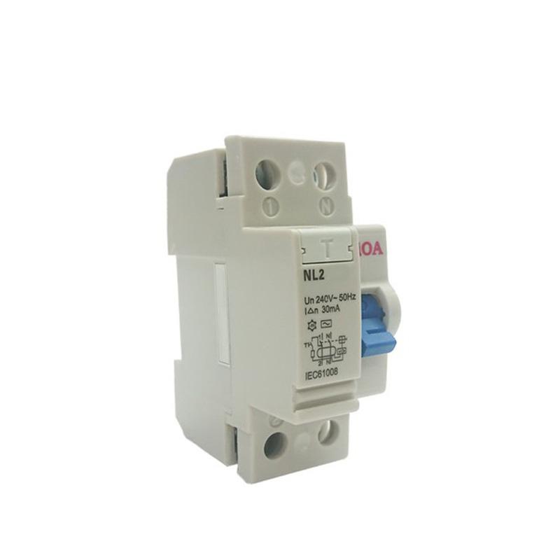 Aptomat chống giật loại 2 cực dòng điện 25A LiOA RCCB2025/30
