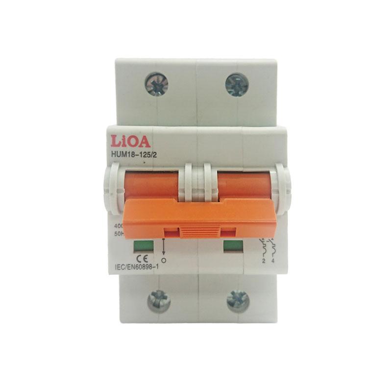Aptomat loại 2 cực dòng điện 10A LiOA MCB2010/4,5