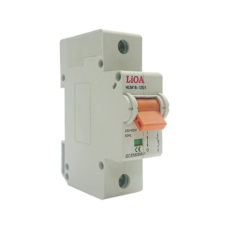 Aptomat loại 1 cực dòng điện 50A LiOA MCB1050/6