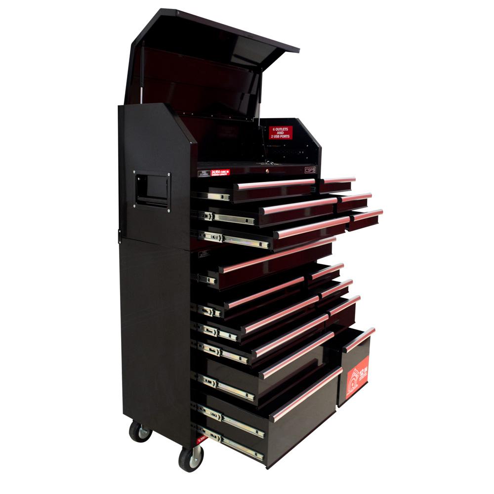 Tủ dụng cụ 104 cm 16 hộc kéo CSPS VNTC10416B11S