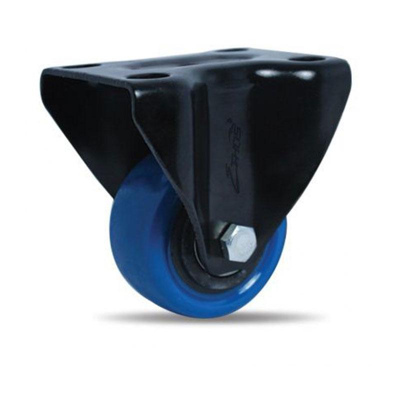 Bánh xe nhựa PU dòng 260 tải trọng trung bình trục cố định Ethos 262UBZ040P60