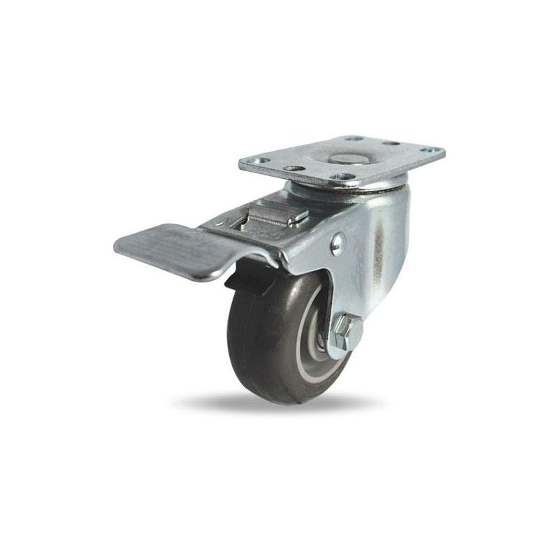 Bánh xe PU tải trọng nhẹ Ethos 256UIY100P01